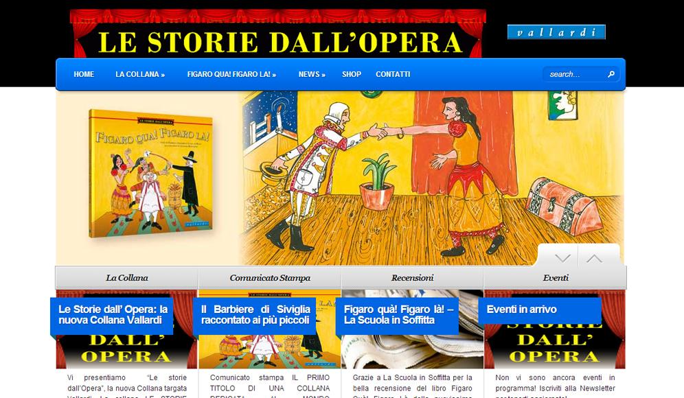 Le Storie dall'Opera – Nuovo Sito targato Chinoweb